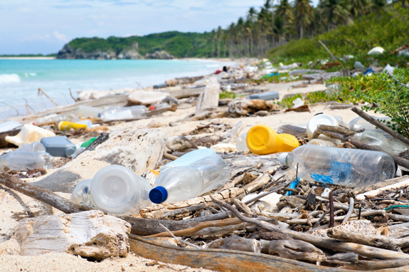 iStock 154890047 Ocean Dumping Total pollution on a Tropical beach